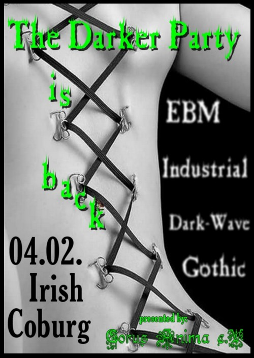 The Darker Party am 4.2.2011 im Coburger Irish